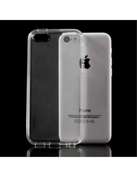 Coque iPhone 5C - silicone Transparent