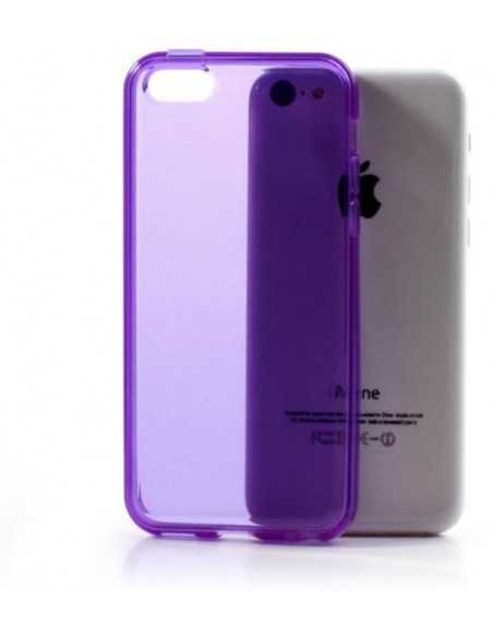 Coque iPhone 5C - silicone Violet