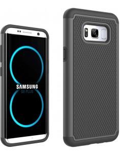 Coque Galaxy S8 Plus silicone football grain