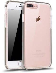 Coque iPhone 7 Plus et 8 Plus protection Gris
