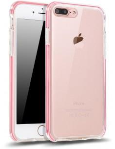 Coque iPhone 7 Plus et 8 Plus protection Fushia