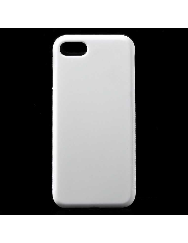 coque iphone 8 gris blanc