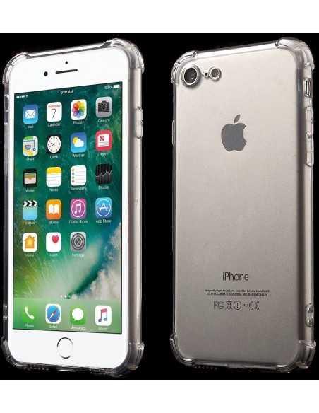 Coque iPhone 7 et iPhone 8 silicone drop-proof Gris
