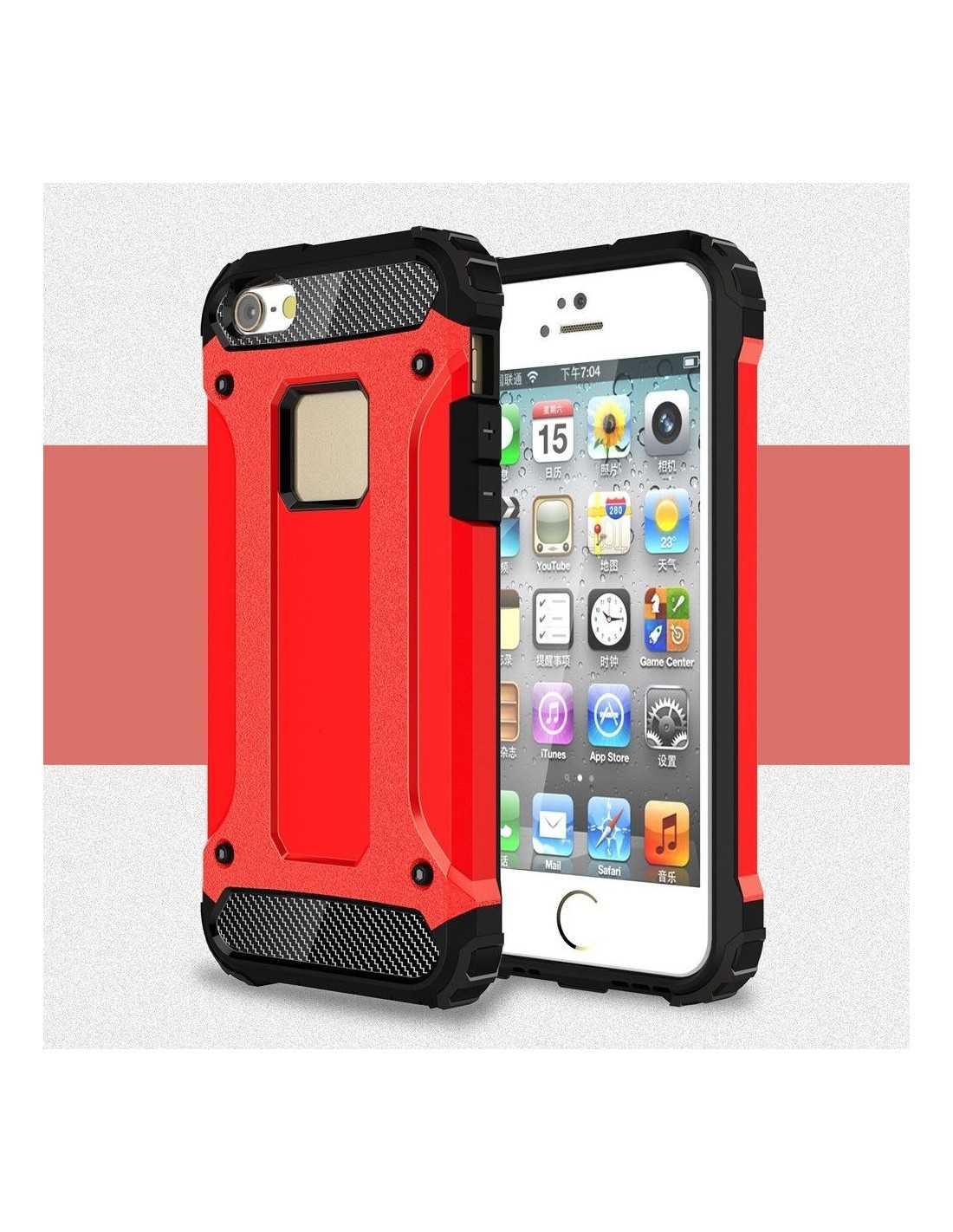 coque iphone se 5s 5 silicone antichoc shield