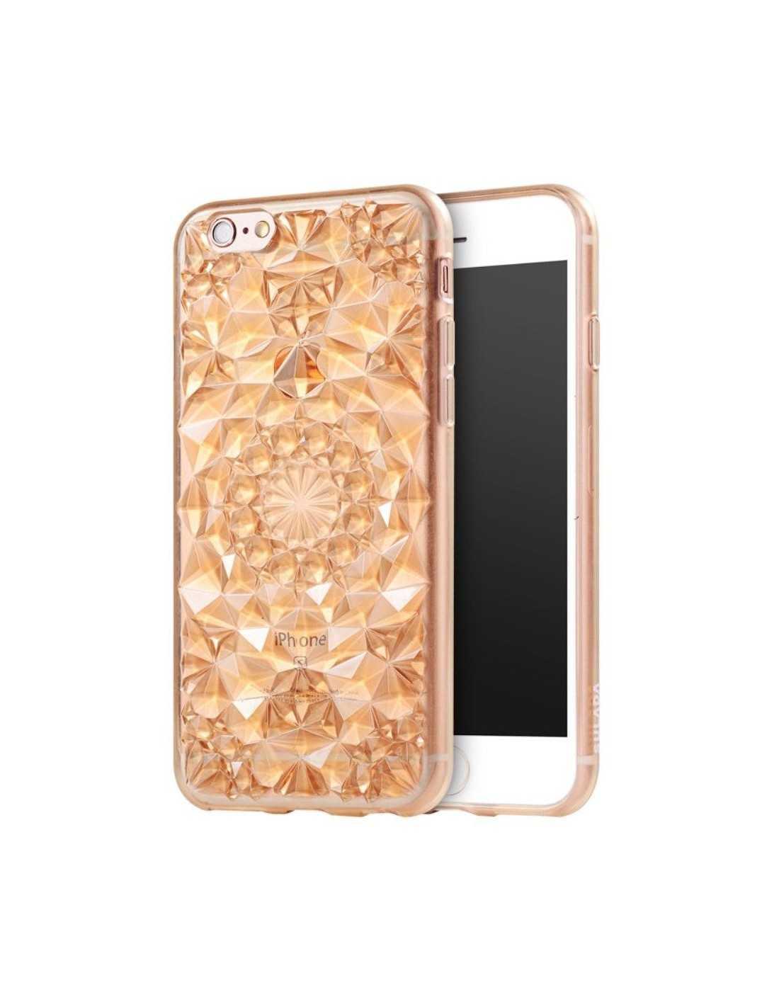 coque iphone 6s 6 silicone 3d diamants