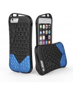 Coque iPhone 6s Plus et 6 Plus Sport Aspect semelle Bleu