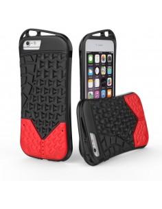Coque iPhone 6s Plus et 6 Plus Sport Aspect semelle Rouge