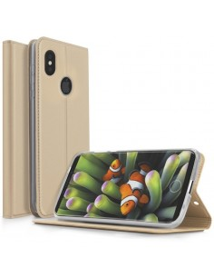 Etui iPHone X Simili Cuir Contour Silicone