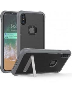 Coque iPhone X Antichoc Silicone avec support
