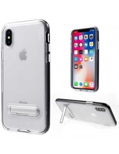 Coque iPhone X Plastique avec contour Hybrid