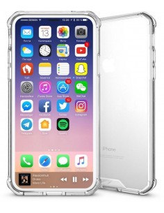 Coque iPhone X Transparent et Resistant Elegant