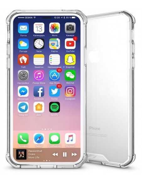 Coque iPhone X Transparent et Resistant Elegant Transparent