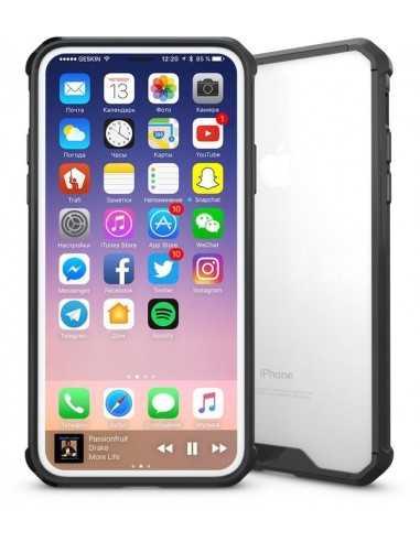 Coque iPhone X Transparent et Resistant Elegant
