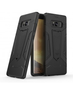 Coque Galaxy Note 8 Silicone Hybrid Antichoc avec support