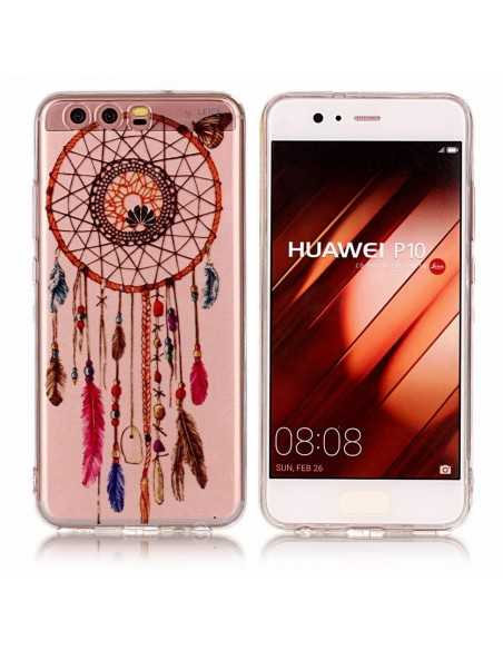 Coque Huawei P10 silicone Dream Catcher Transparent
