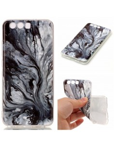 Coque Huwei P10 Silicone Style Marbre