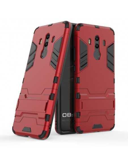 Coque Huawei Mate 10 Pro antichoc Armor avec support Rouge