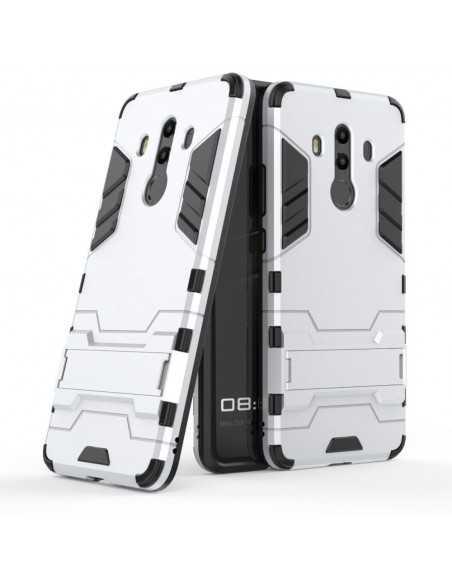 Coque Huawei Mate 10 Pro antichoc Armor avec support Argent