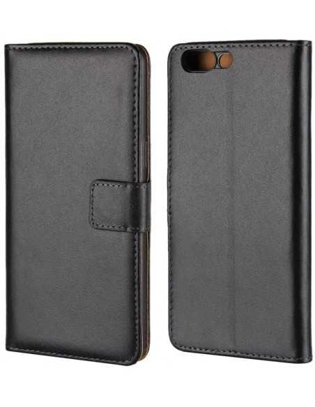 Etui OnePlus 5 Portefeuille Simili Cuir Noir