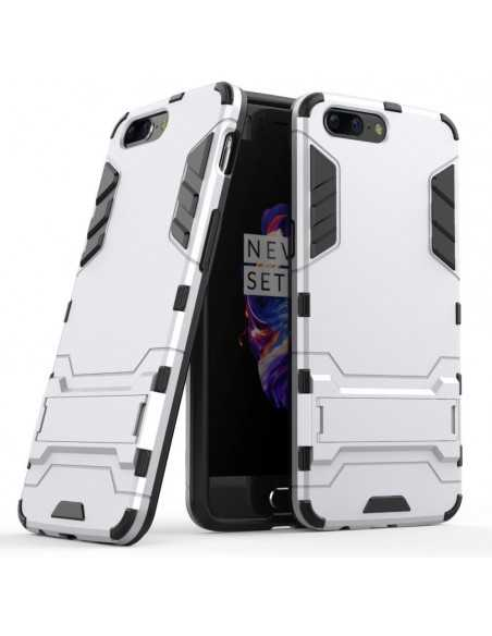 Coque OnePlus 5 Cool Guard Argent