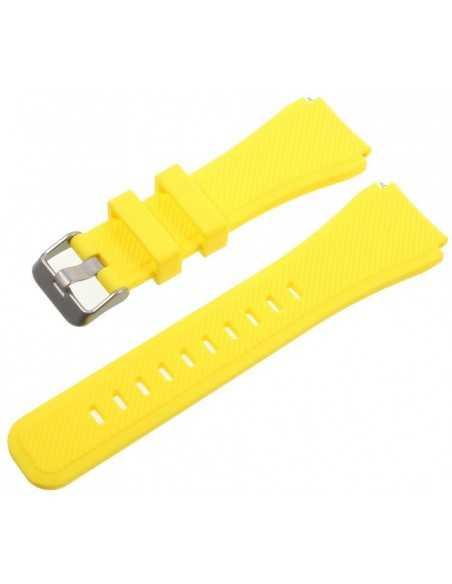Bracelet Gear S3 Classic et Frontier Jaune