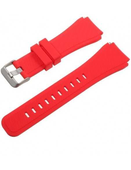 Bracelet Gear S3 Classic et Frontier Rouge