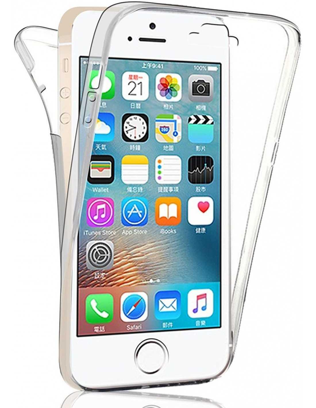 coque iphone se 5s 5 integrale silicone