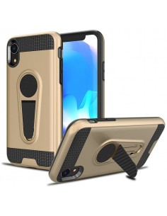 Coque iPhone XR Hybride avec support