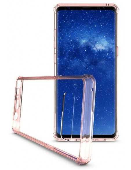 Coque antichoc transparente Galaxy Note 8 Rose