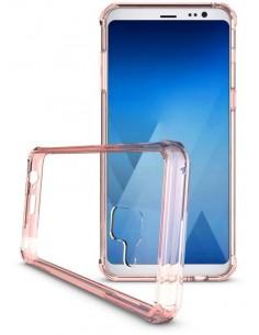Coque antichoc transparente Galaxy A8 2018