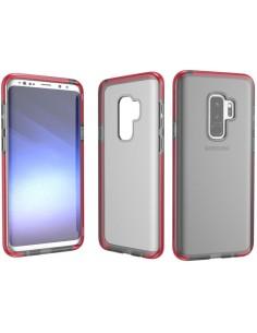 Coque silicone antichocs Samsung Galaxy S9 Plus Transparent