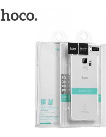 Coque silicone souple Galaxy S9 Light Series Hoco Transparent