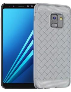 Coque silicone Galaxy A8 plus 2018 Tissé Baseus