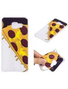 Coque silicone Galaxy A5 2016 Pizza