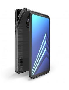 Coque silicone antichoc Galaxy A8 Plus Dux Ducis Mojo