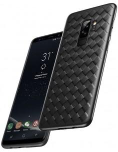 Coque silicone Galaxy S9 plus Tissé Baseus