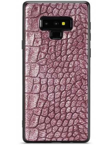 Coque Silicone Cuir Galaxy Note 9 Whatif