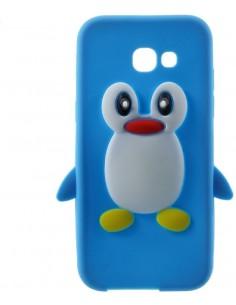 Coque silicone Galaxy A3 2017 Pingouin