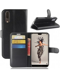 Etui portefeuille Huawei P20 Style cuir