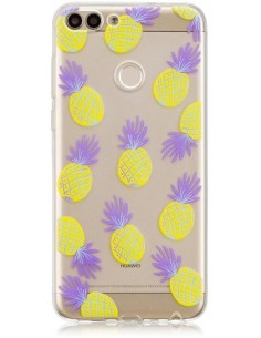 Coque silicone Huawei P Smart Ananas