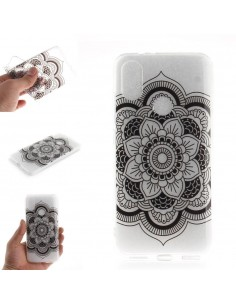 Coque Silicone Xiaomi Mi A2 et Mi 6X Beautiful flower