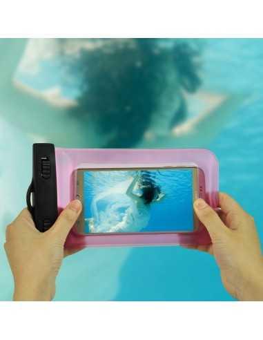 Sacoche étanche pour iPhone Samsung Sony