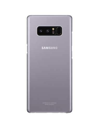 Coque silicone Galaxy Note 8 Original Silky and Soft Touch finish Transparent