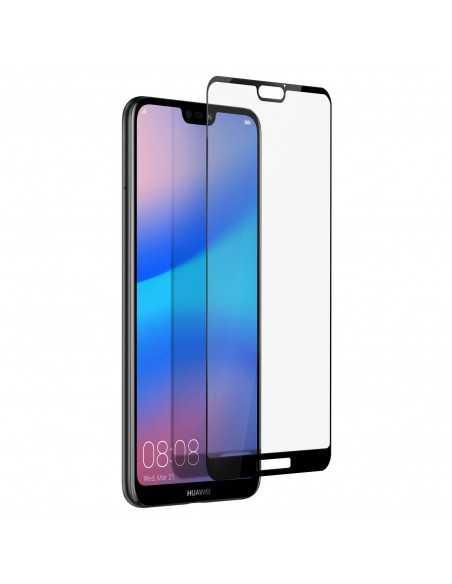 Film en verre trempé 5D Huawei P20 Lite Noir