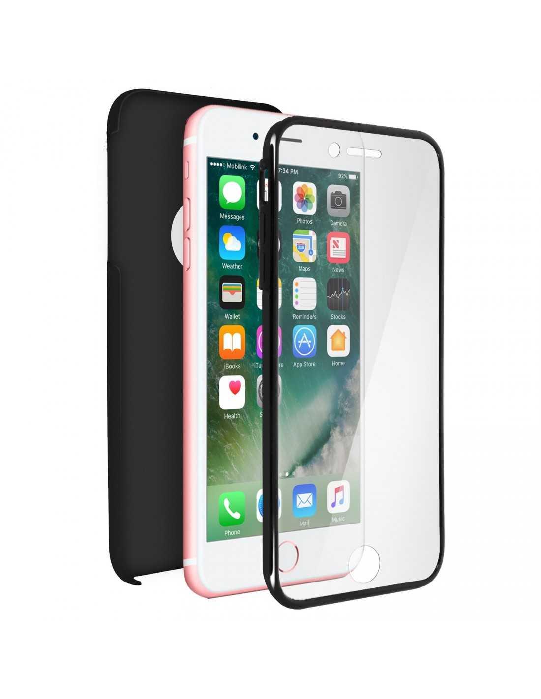 coque iphone 8 7 integrale silicone rigide