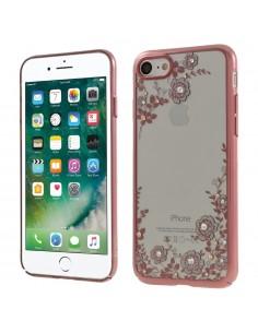 Coque silicone pour iPhone 8 et iPhone 7 avec pierres Swarovski