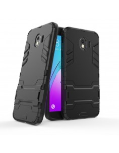 Coque antichoc Galaxy J4 2018 avec petit support Cool Guard