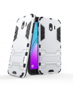 Coque antichoc Galaxy J4 2018 avec petit support Cool Guard