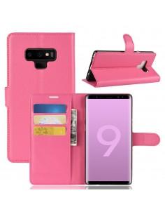 Etui Samsung portefeuille pour Galaxy Note 9 avec rangement cartes