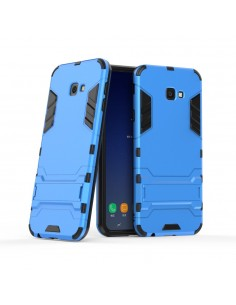 Coque antichoc Galaxy J4+ avec petit support Cool Guard